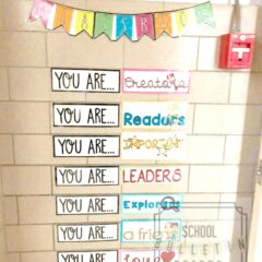 You Are…Bulletin Board