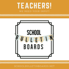 School Bulletin Boards #bulletinboards #teachers
