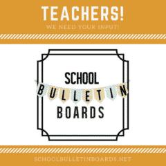 School Bulletin Boards #bulletinboards #teachers