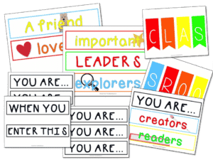You Are Bulletin Board Set