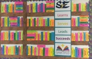 Catholic Schools Week Bulletin Board