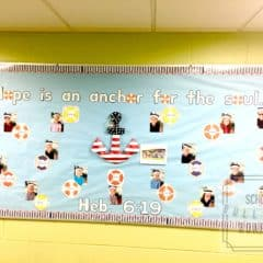 Anchor Hope Bulletin Board