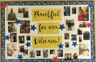 Thank You Veterans Bulletin Board