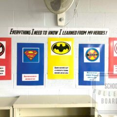 Superheroes in School