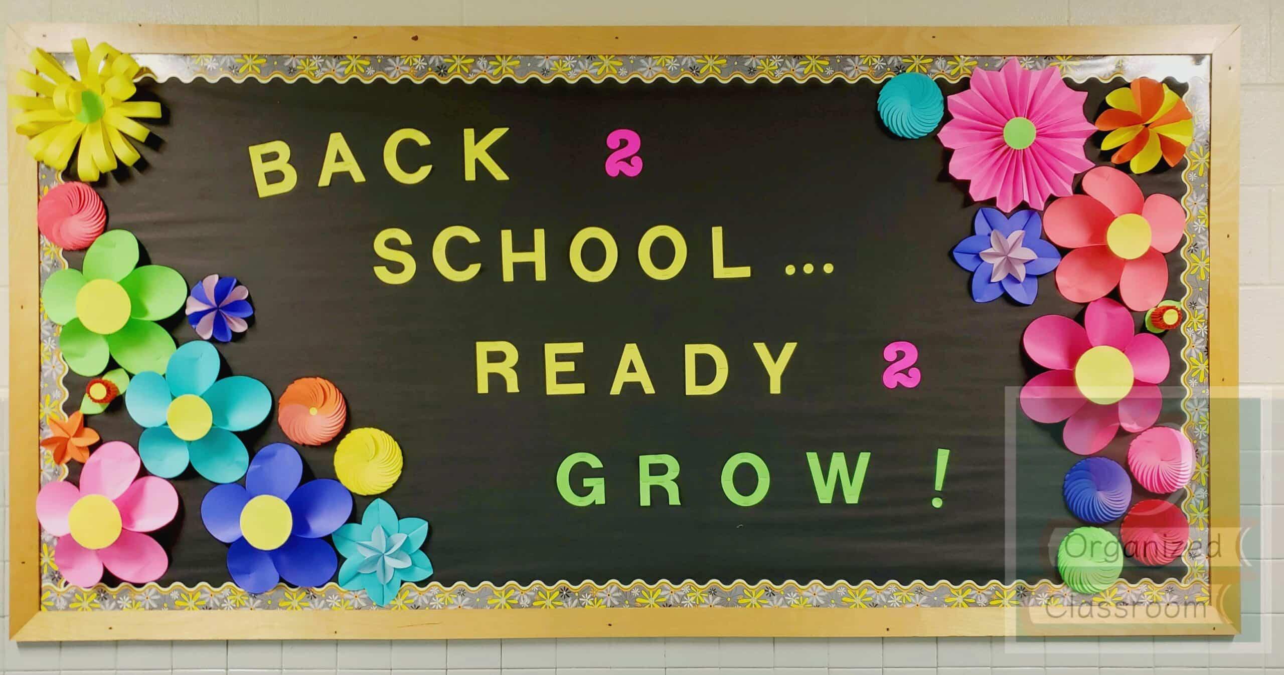 Growing in the Garden Bulletin Board  School Bulletin Boards For Bulletin Board Template Word