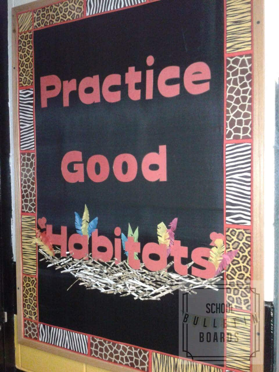 This simple bulletin board is a great play on words that still ties into the science curriculum and can be used by intermediate, junior high, or high school teachers. #science #schoolbulletinboards