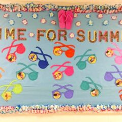 Time for Summer Bulletin Board