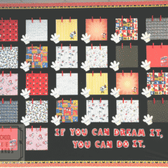 "Do you have a ""mouse"" addiction and dream of being there every second you're currently not?  This fun classroom bulletin board encourages all students to experience the magic all year long! #disney #mickey"