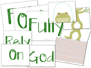 This FROG bulletin board is perfect for all parochial classrooms!  #schoolbulletinboards #parochial