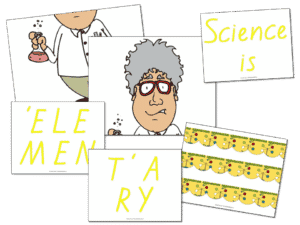 Let's focus on science learning!  Here's a fun