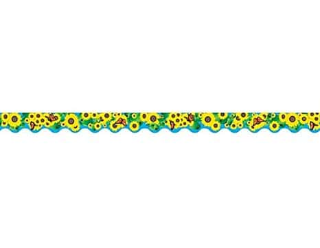 Teacher Created Resources Sunflowers Border Trim, Multi Color (4133)