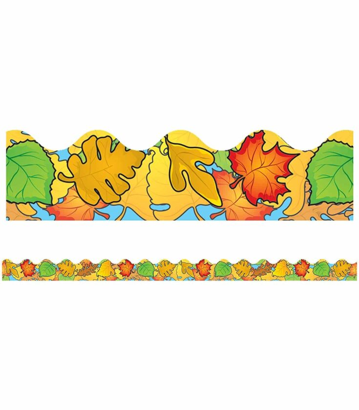 Leaf Bulletin Board Border
