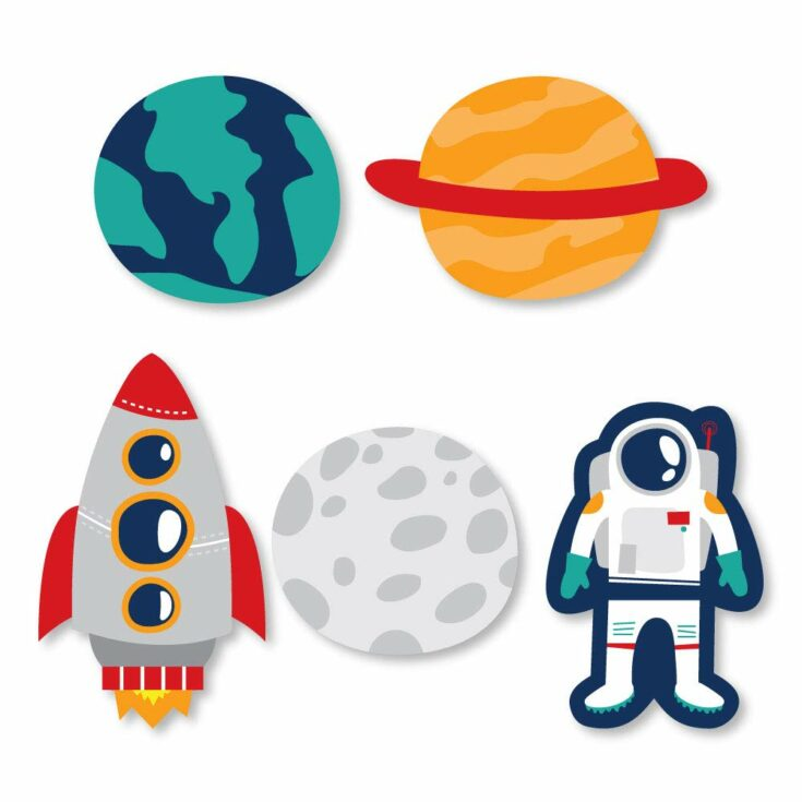 Astronaut Cut Outs