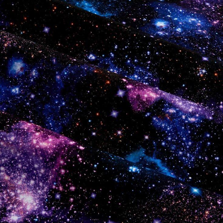 Digital Stars Nightfall Fabric