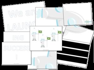 Launching Towards Success Bulletin Board